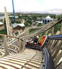 Northern California's Tallest, Fastest Wooden Roller Coaster To Open in 2013
