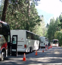 Surprise Bus Inspection at Yosemite Finds Several Violations